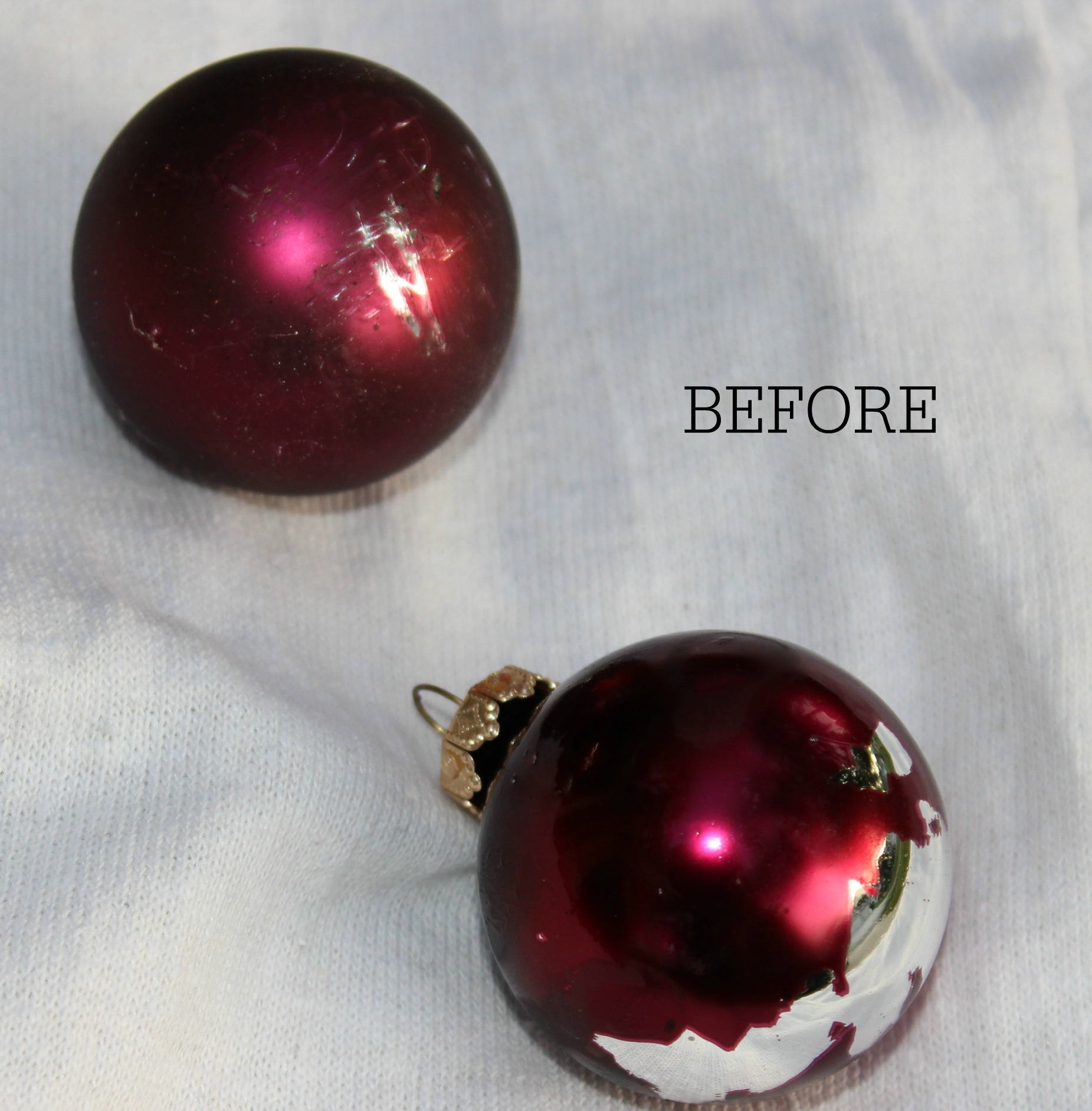 Update Your Old Ornaments