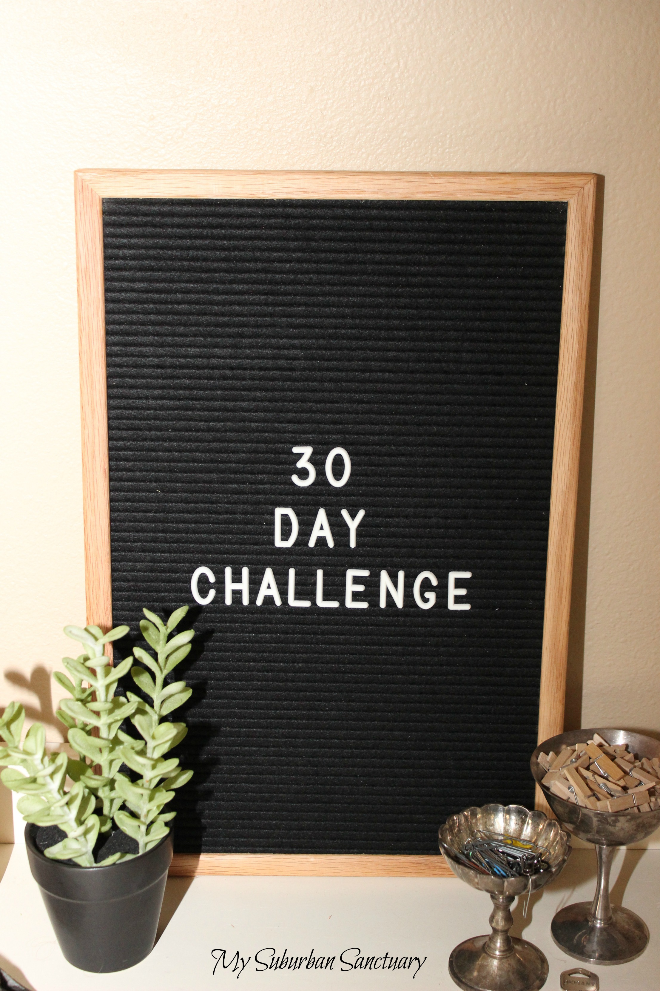 My 30 DAY CHALLENGE